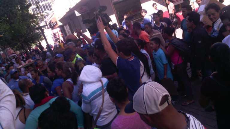 Sigue desalojo de vendedores ambulantes en centro de Tegucigalpa
