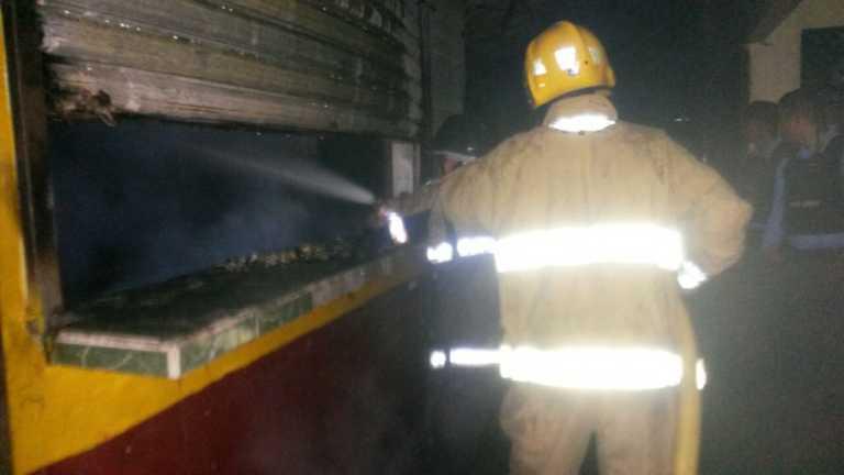 Incendio en mercado «San Isidro» de La Ceiba