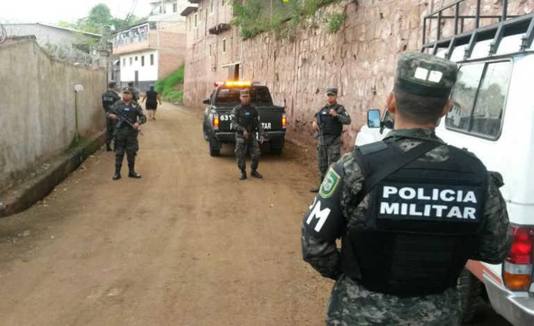 Realizan operativos rutinarios en barrios y colonias de Tegucigalpa