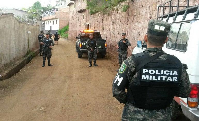 Operativos en Tegucigalpa