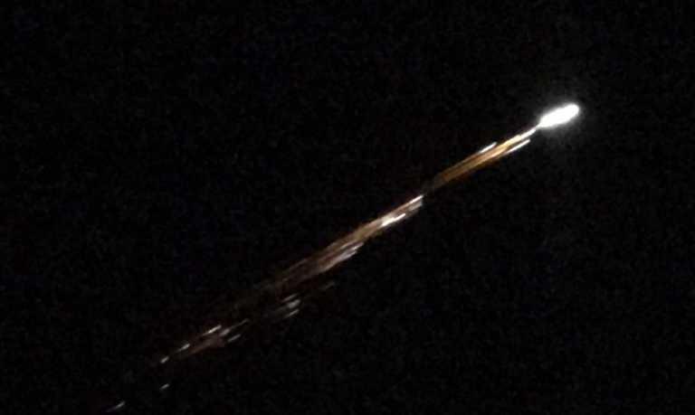 Captan posibles meteoritos en Guatemala, El Salvador y Nicaragua