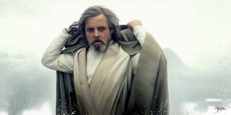 Star Wars: Episodio VIII ¿Quiénes acompañaban a Luke Skywalker en la isla?