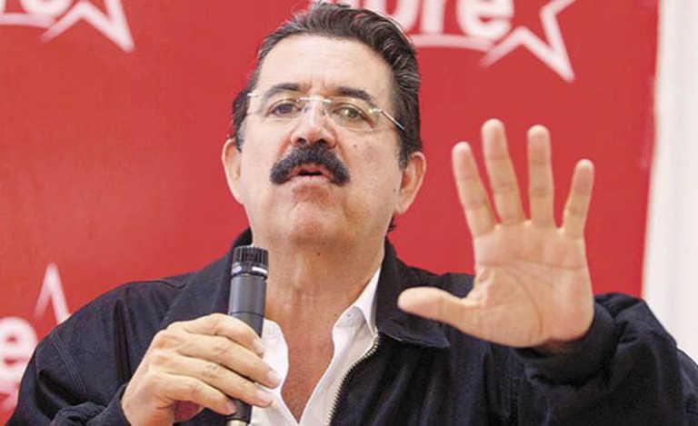 """Manuel Zelaya: """"las FFAA y las iglesias desaparecieron del mapa"""""""