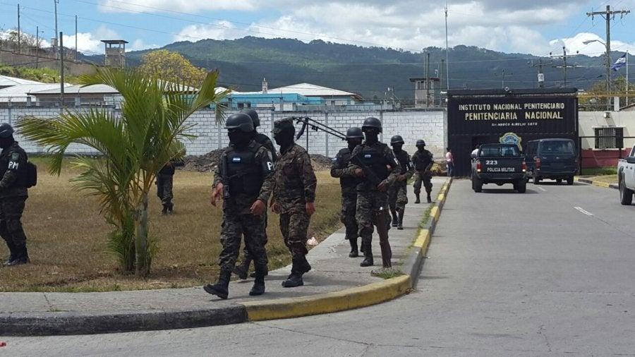 Operativos en penal de Támara