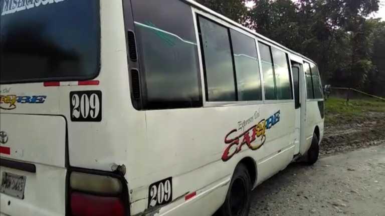 Matan a conductor de bus «Caribe» en Choloma, Cortés