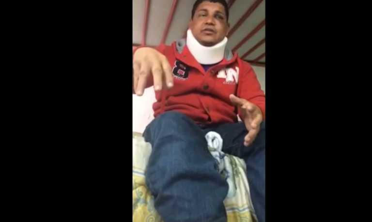 Migrante hondureño logró huir de agentes que lo torturaron