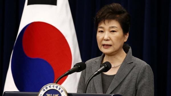 La presidenta de Corea del Sur