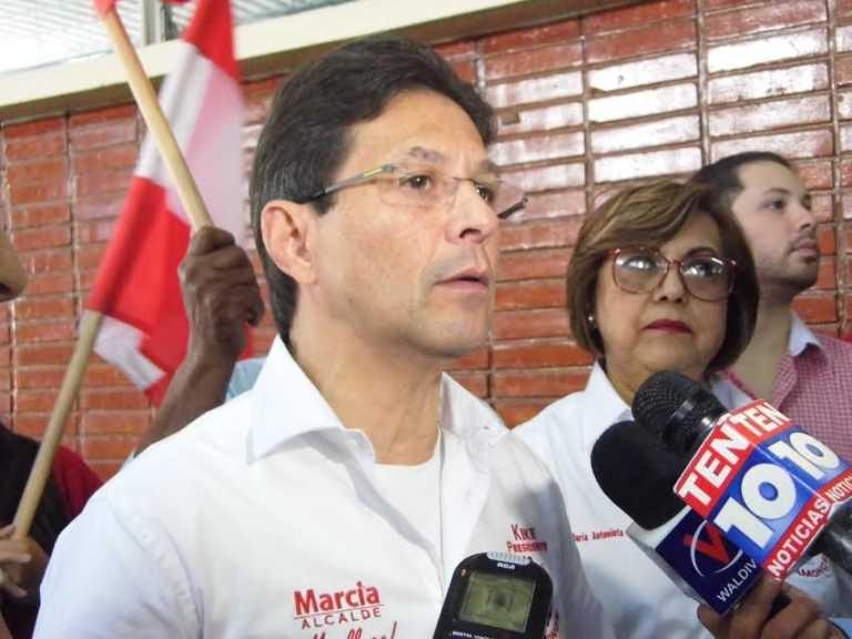 Kike Ortéz llama a la unidad del Partido Liberal contra la reelección
