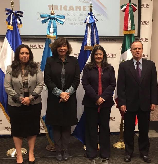 Triángulo Norte y México se reunen con Jefe de Patrulla Fronteriza en Texas