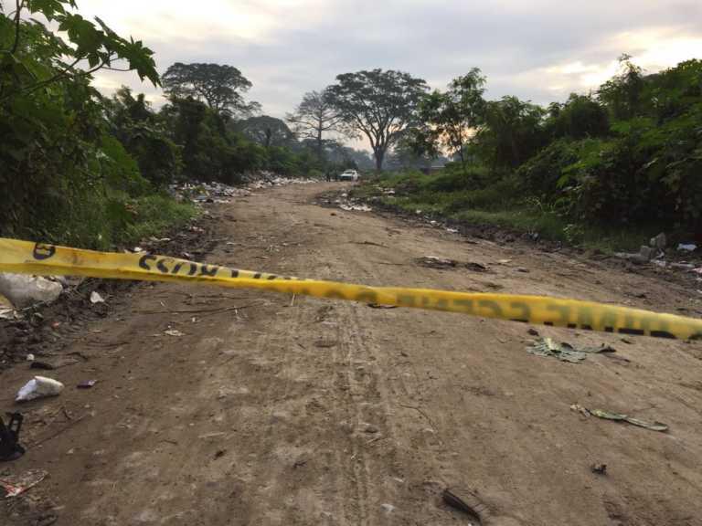Hallan cadáver en desvío a El Limonar en San Pedro Sula