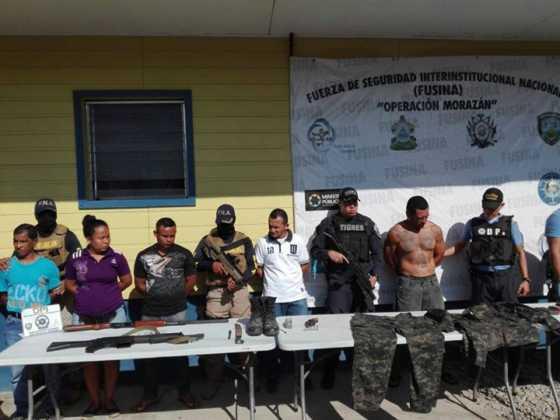 Las personas que fueron capturadas este viernes