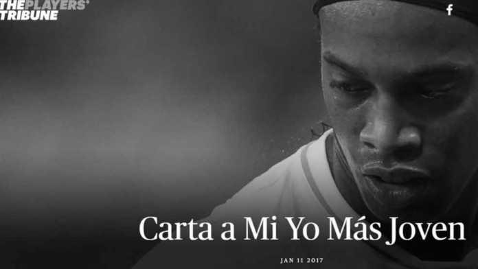 Ronaldinho escribe emotiva carta a Messi
