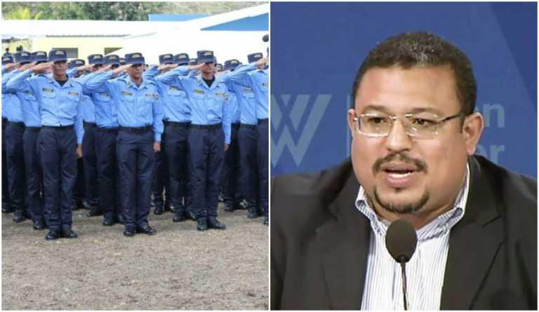 """Depurador Omar Rivera: """"Ningún oficial tiene cheque en blanco en la Policía Nacional"""""""