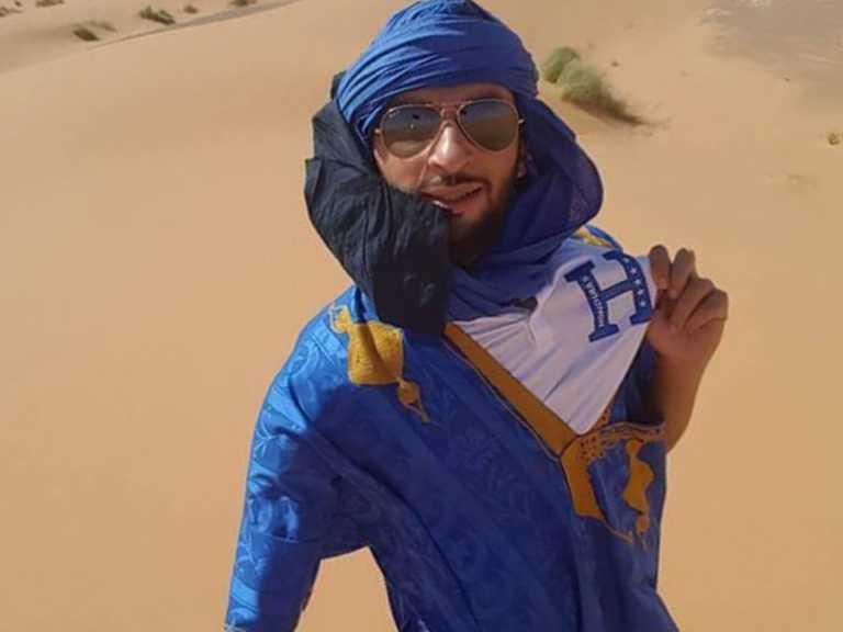 La historia de un marroquí que es hondureño de corazón