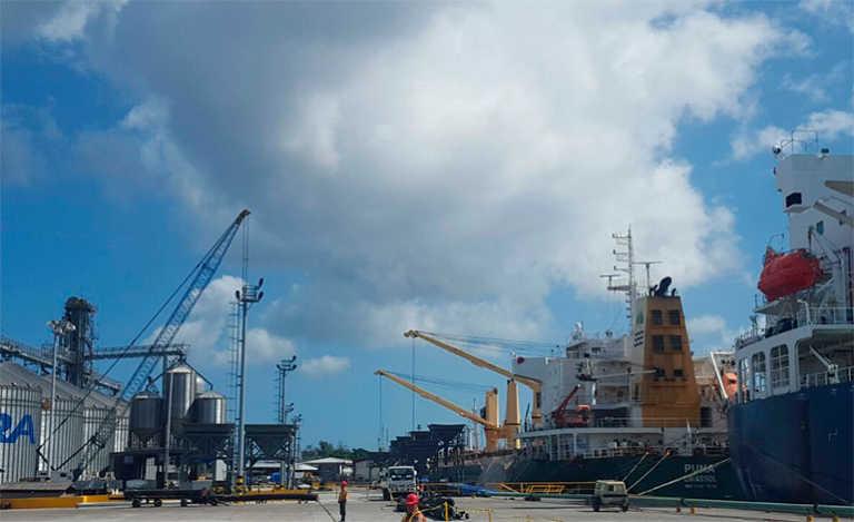 Inauguran nueva terminal de granel en Puerto Cortés