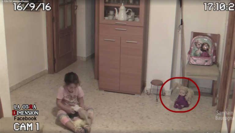 Un padre graba los 'fenómenos paranormales' que le ocurren a su hija