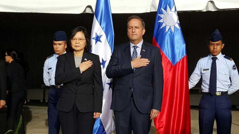 Presidenta de China (Taiwán) llega a Honduras para fortalecer lazos de cooperación