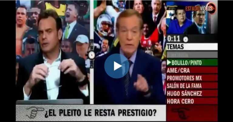 José Ramón y Faitelsón califican como «ridículo» pleito entre Pinto y «Bolillo»