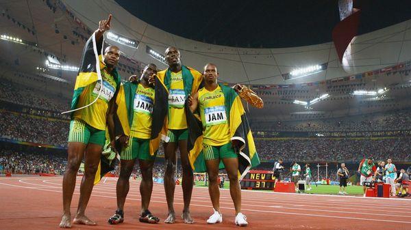 Asafa Powell, Nesta Carter, Usain Bolt y Michael Frater ya devolvieron su medalla de oro del 4×100 masculino deBeijing 2008