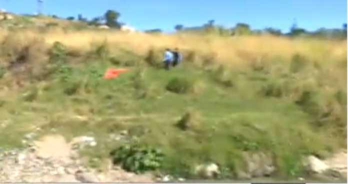 cadáver en Río Choluteca