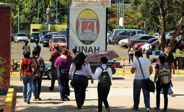 Los estudiantes de la UNAH con bajo índice