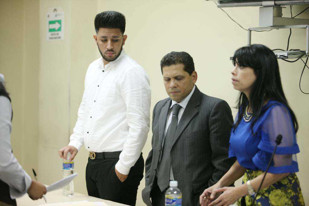 Kevin Solórzano en juicio