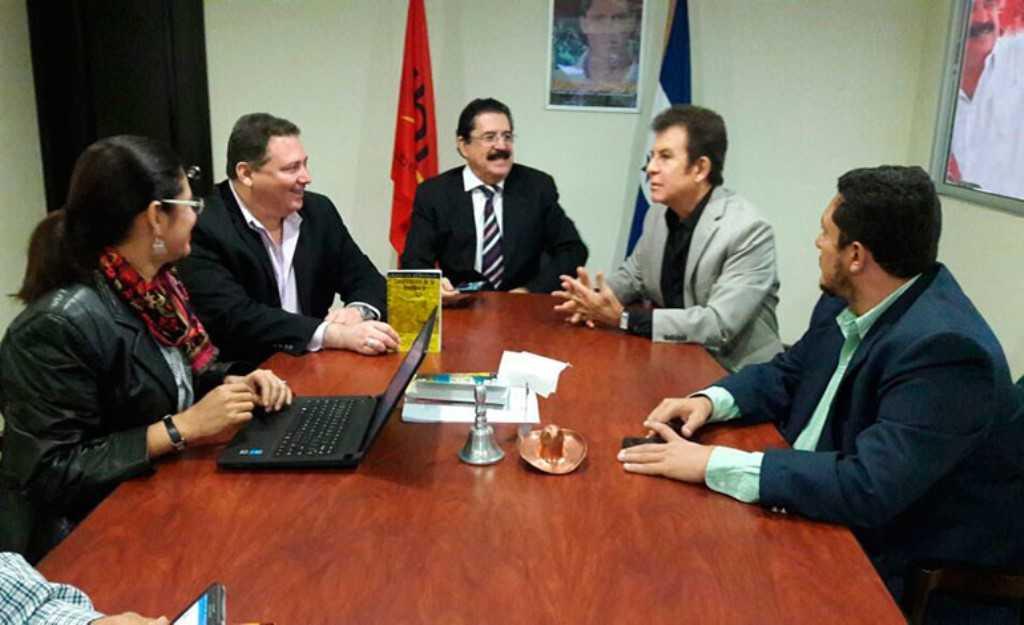 Líderes de partidos de oposición sellaron alianza el domingo en Asamblea de Libre.