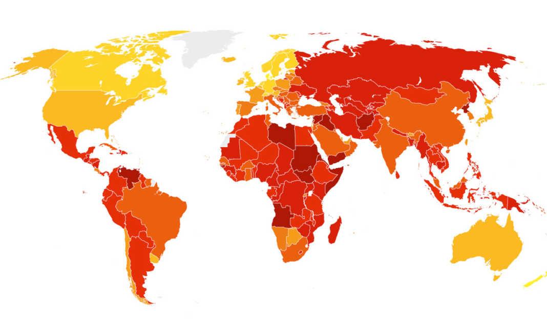 países más corruptos en américa latina