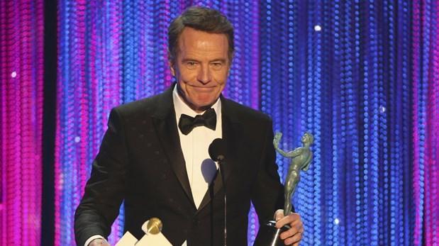 """Bryan Cranston se llevó el premio a Mejor actor en serie limitada o película para TV por """"All The Way""""."""