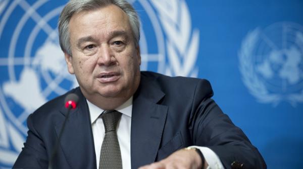 António Guterres nuevo secretario general de la ONU con un llamado por la paz