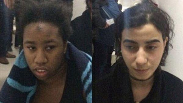 Dos de las tres mujeres fueron identificadas.