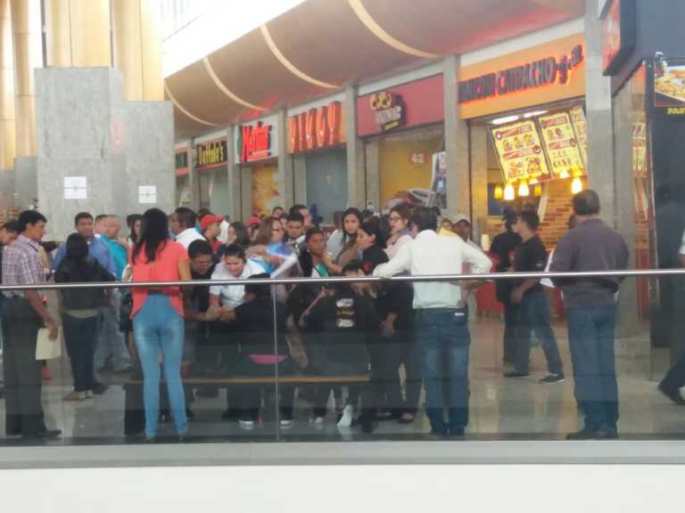 Tegucigalpa: Al menos 5 heridos por explosión de chimbo en el City Mall