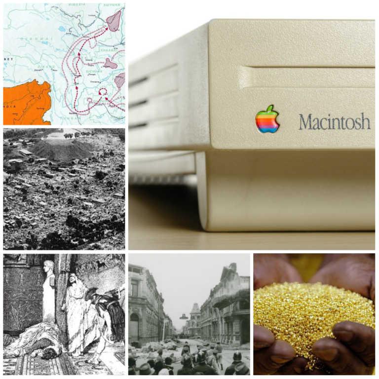 Hoy en la historia: Terremotos, asesinatos y lanzamientos