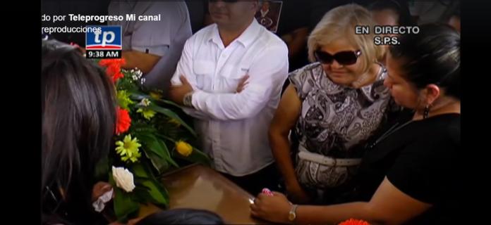 entierro de Igor Padilla