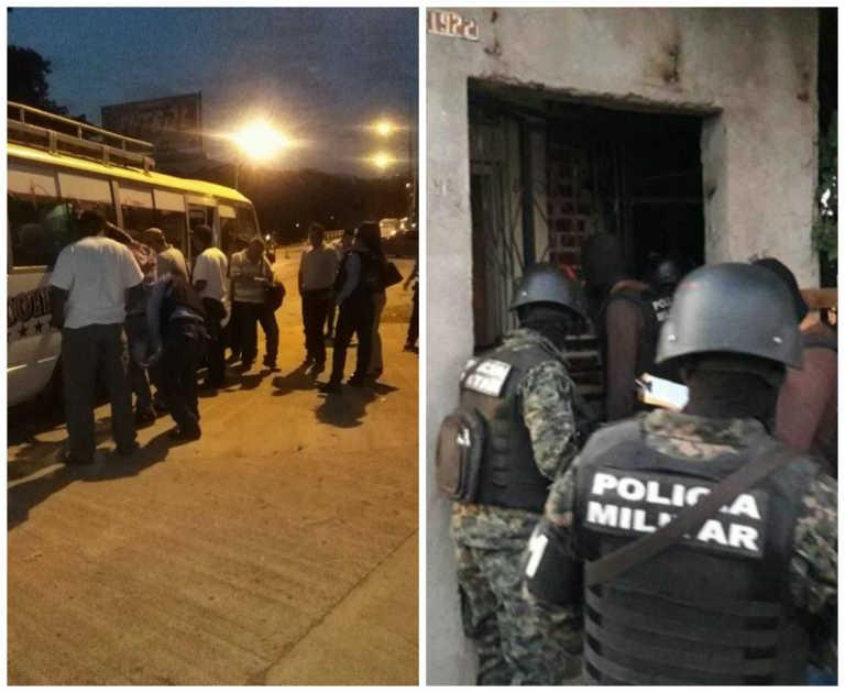 FUSINA realiza fuertes operativos en La Ceiba, Atlántida