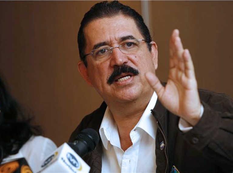"""Manuel Zelaya: """"si no hay legitimidad, no habrá elecciones"""""""