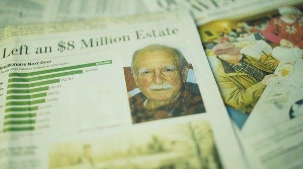Invertía desde hacía muchos años y se hizo millonario.