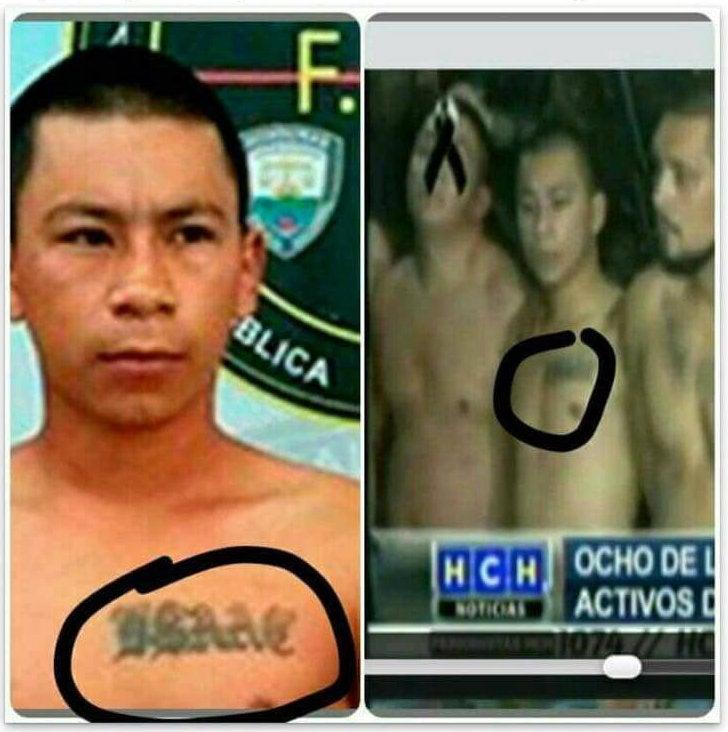 Gracias a su tatuaje, no hay duda.