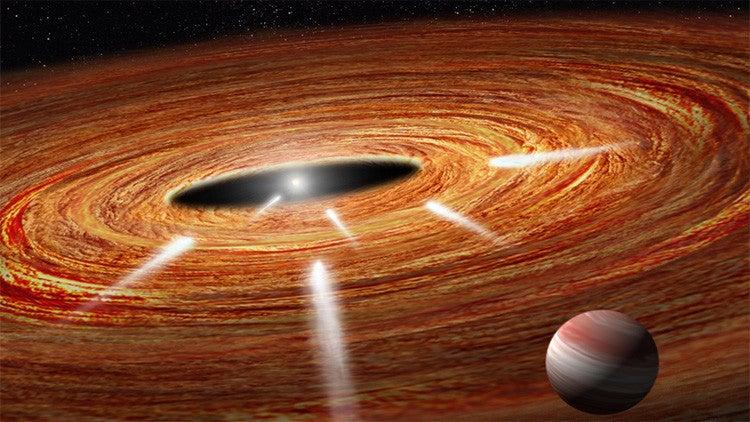Telescopio Hubble detecta cometas 'suicidas' hundiéndose cerca de la Tierra