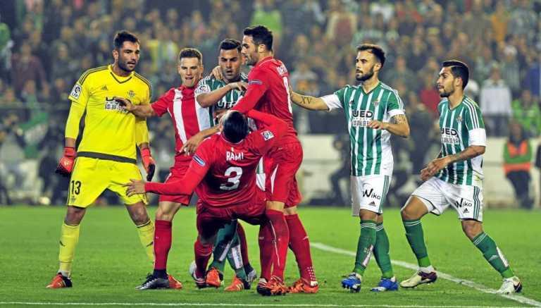Liga española: El Sevilla de Sampaoli, ante un derbi decisivo contra Betis