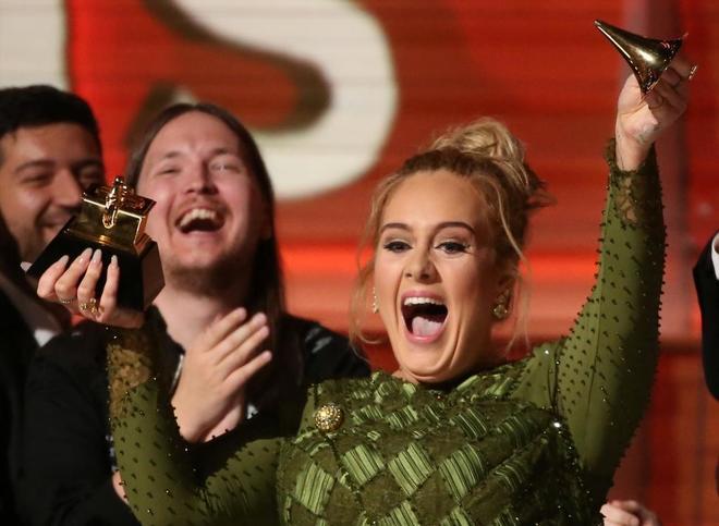 Grammys 2017: Adele arrasa con las categorías principales, mira la lista de ganadores