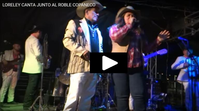 VIDEO: ¡El día que Loreley Fernandéz cantó junto al Roble Copaneco!