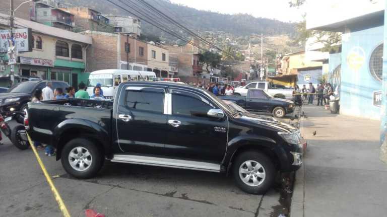 Joven es asesinado a balazos en el barrio San Pablo de Tegucigalpa