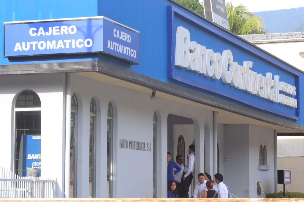 Banco Continental en Honduras (Imagen de archivo)