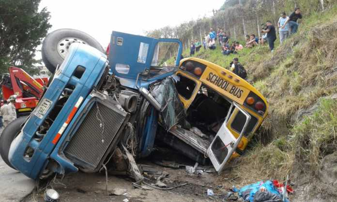 accidente en el sur de Honduras