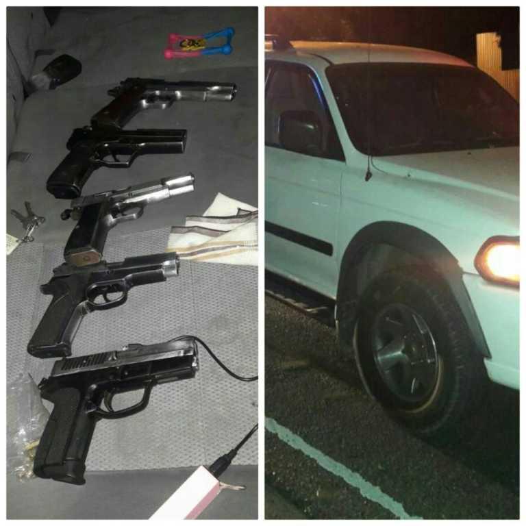 Tegucigalpa: Caen 4 menores en posesión de camioneta robada