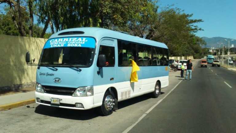 Matan a estudiante de arquitectura dentro de bus en Tegucigalpa