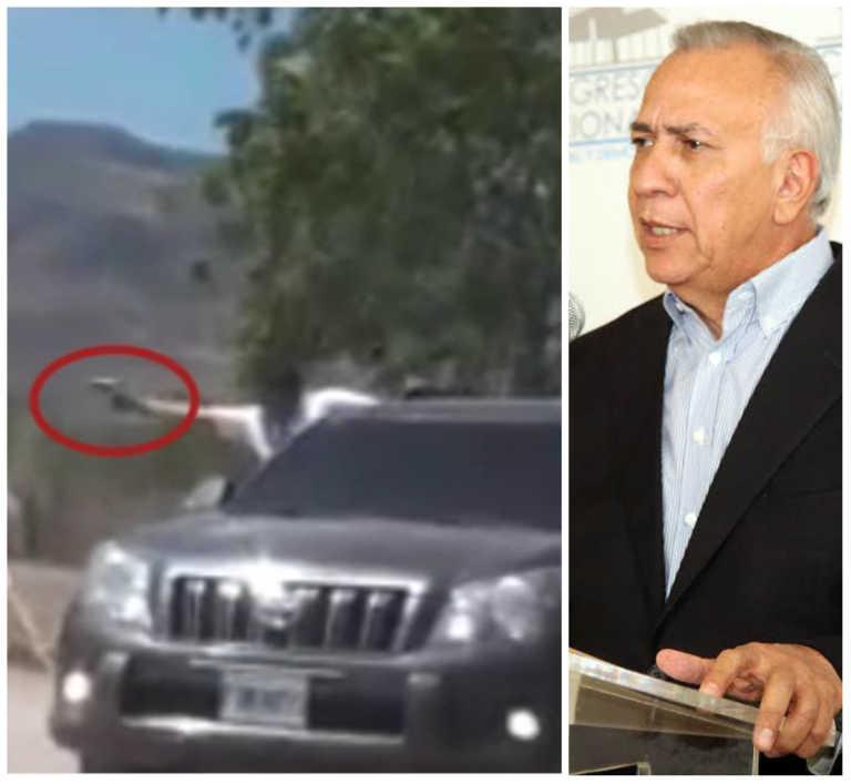 Choluteca: Supuesto escolta de Mauricio Oliva casi dispara a protestantes