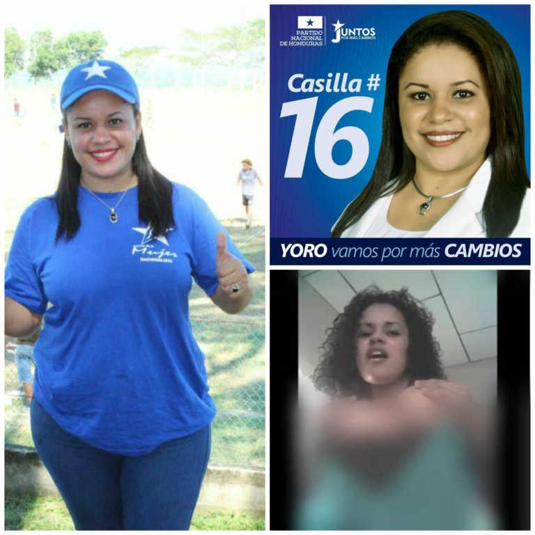 Pre-candidata a diputada Indira Mendoza aclara sobre fotos íntimas