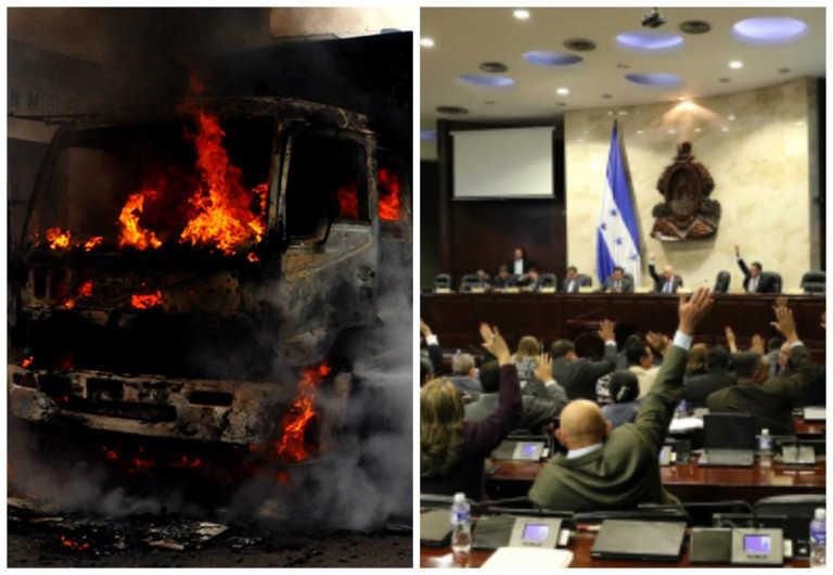 Reformas Penales: Aprueban figura del terrorismo a los actos vandálicos